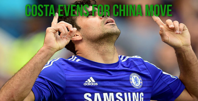 Diego Costa China move looks likely