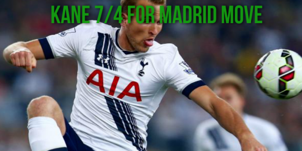 Harry Kane Heading to the Kings of Europe? 7/4 Chance