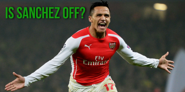 Potential Arsenal Summer Transfers – Sanchez Odds On for Move