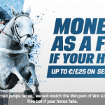 Coral bookmaker gives you money back if your horse falls
