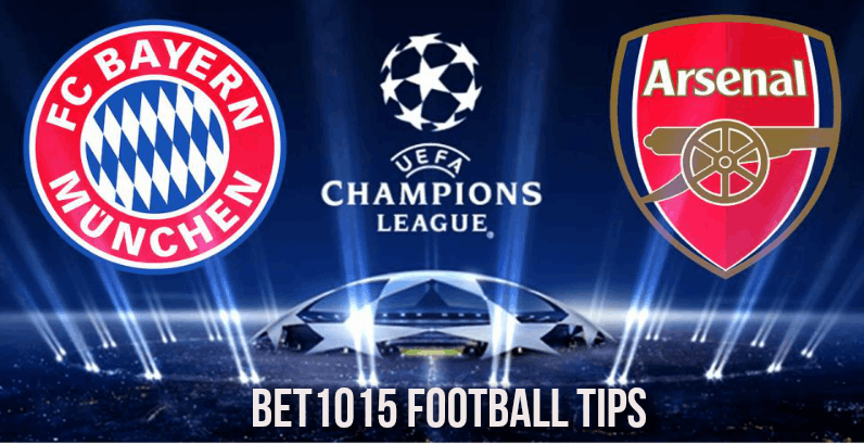 Bayern Munich v Arsenal football tips