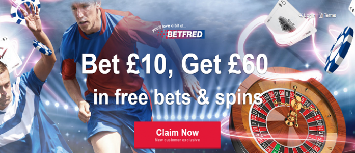 Betfred Bookmaker Promotion