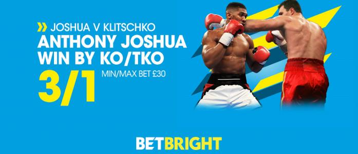 Betbright Boxing Odds offer