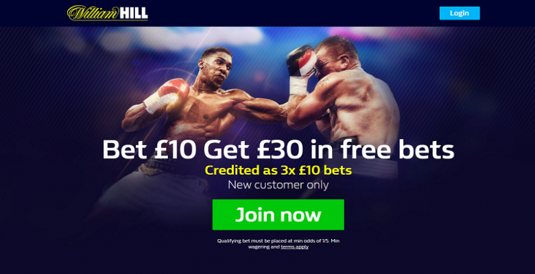 WilliamHill Boxing betting