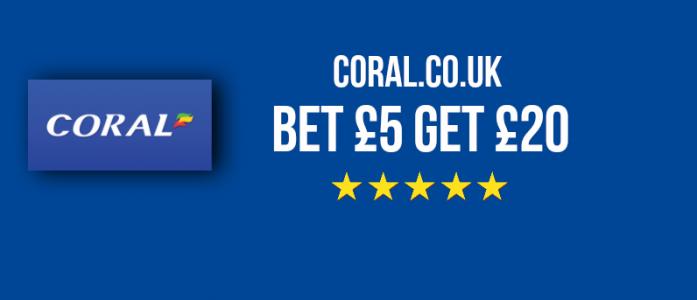 Coral Bookmaker Bonus