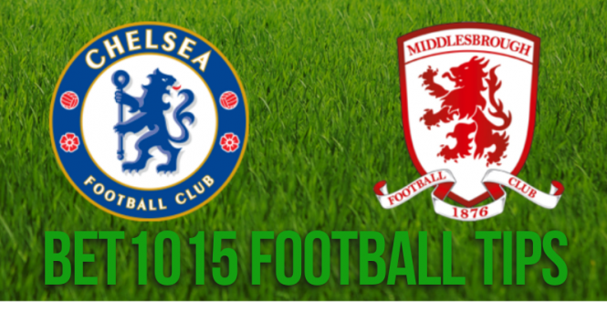 Chelsea v Middlesbrough prediction
