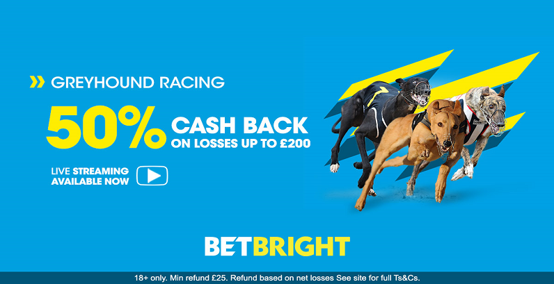 Greyhound Money Back at Betbright Bookmaker