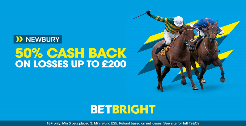 Newbury races cash back