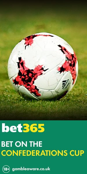 Win big with Confederations Cup Betting at Bet365