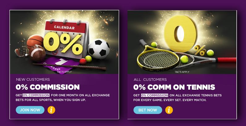 BetDaq Exchange Bonus offers