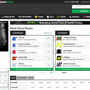 Quinnbet Review of online bookmaker
