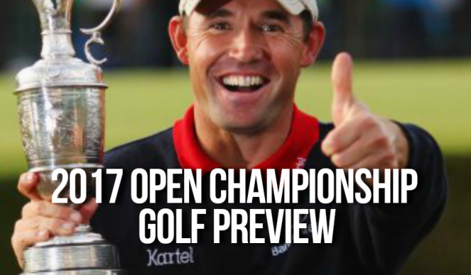 2017 Open Championship Golf Preview