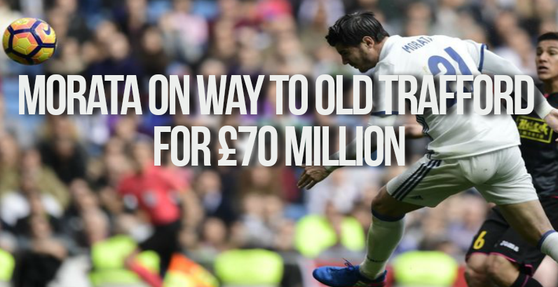 Alvaro Morata Old Trafford move on the cards this Summer