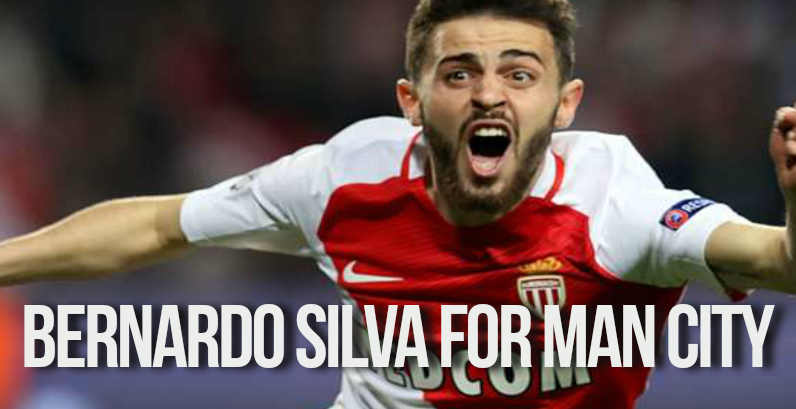 Bernardo Silva in Man City Transfer News