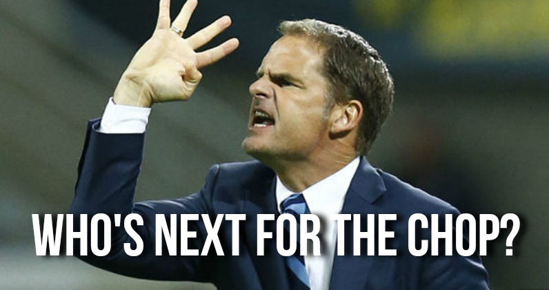 Next Premier League Manager to be Sacked