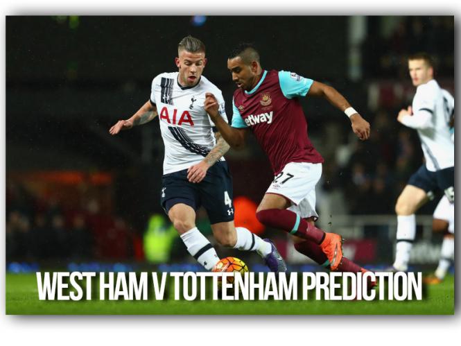 West Ham United v Tottenham Hotspur
