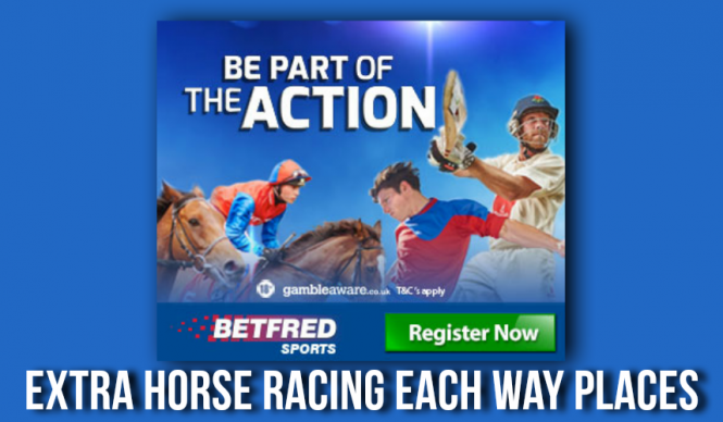 Betfred Each Way Places