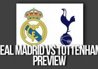 Real Madrid vs Tottenham