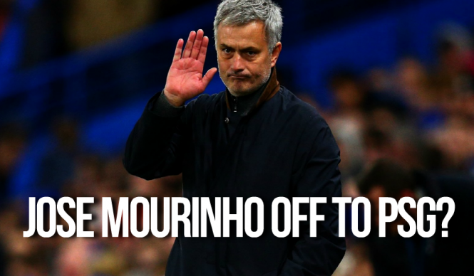 Jose Mourinho off to PSG?