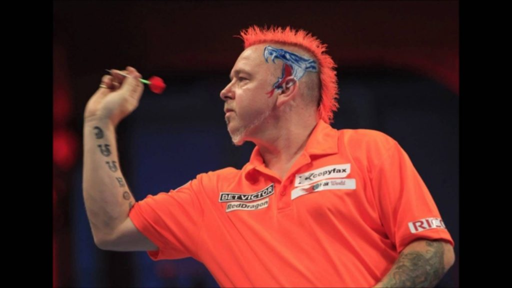 Peter Wright looks a bet to make the PDC Final
