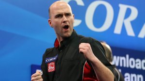 Rob Cross Day 8 of the William Hill darts betting offers