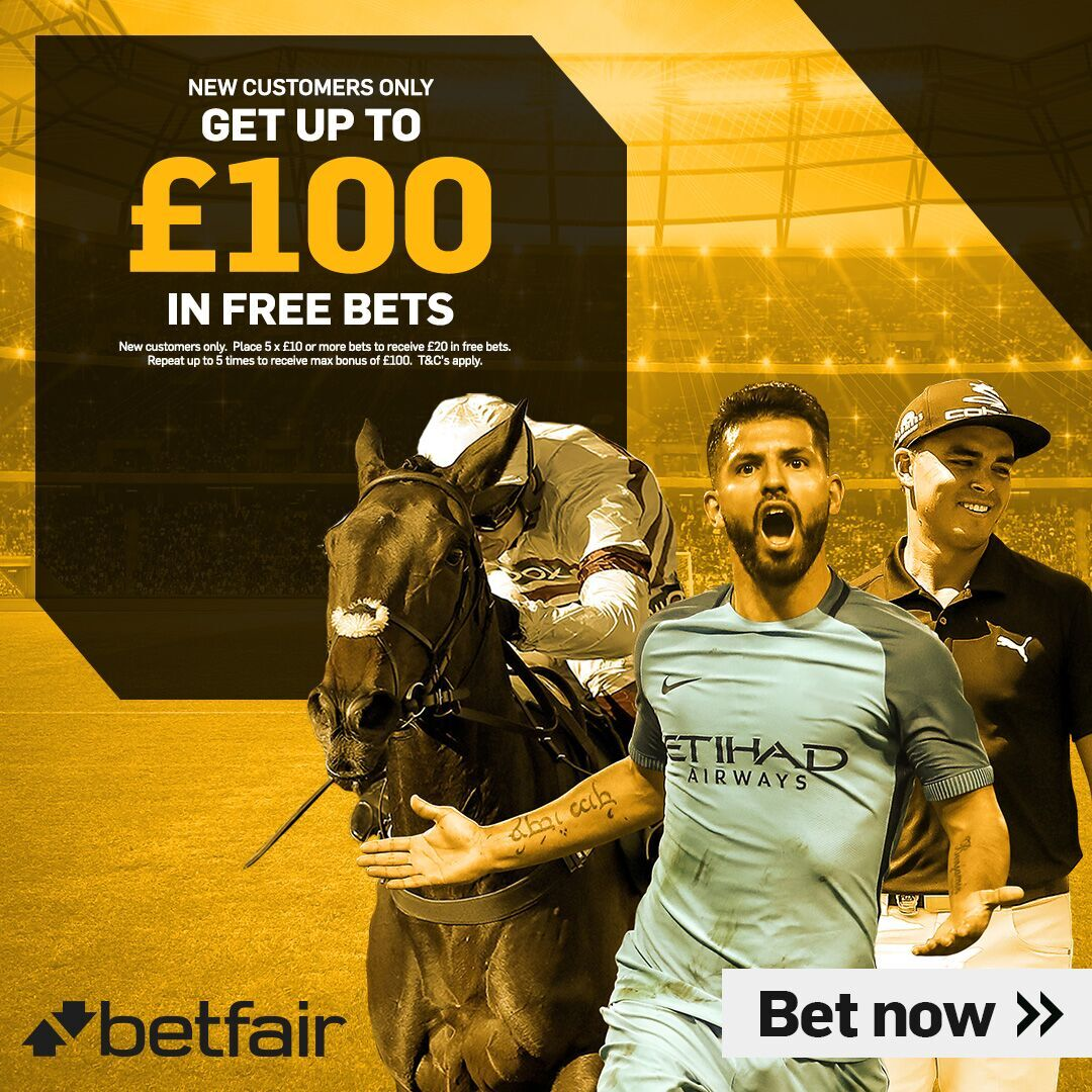 Betfair Offers - £100 in Free Bets & Enhanced Odds