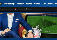 Live betting offers from 10bet