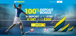 TENNIS BETTING BONUS