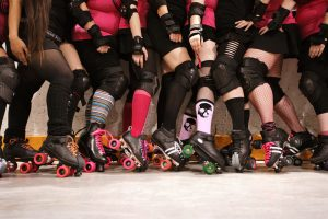 2018 Roller Derby World Cup - Rides into Manchester