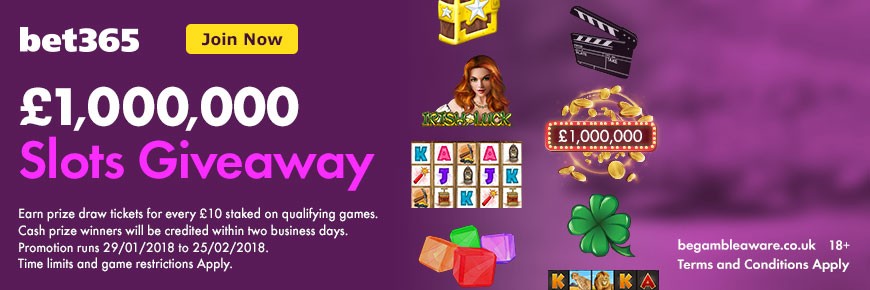 Bet365bingo £1 Million Giveaway