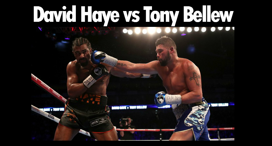 David Haye vs Tony Bellew Odds and Betting Tips Preview