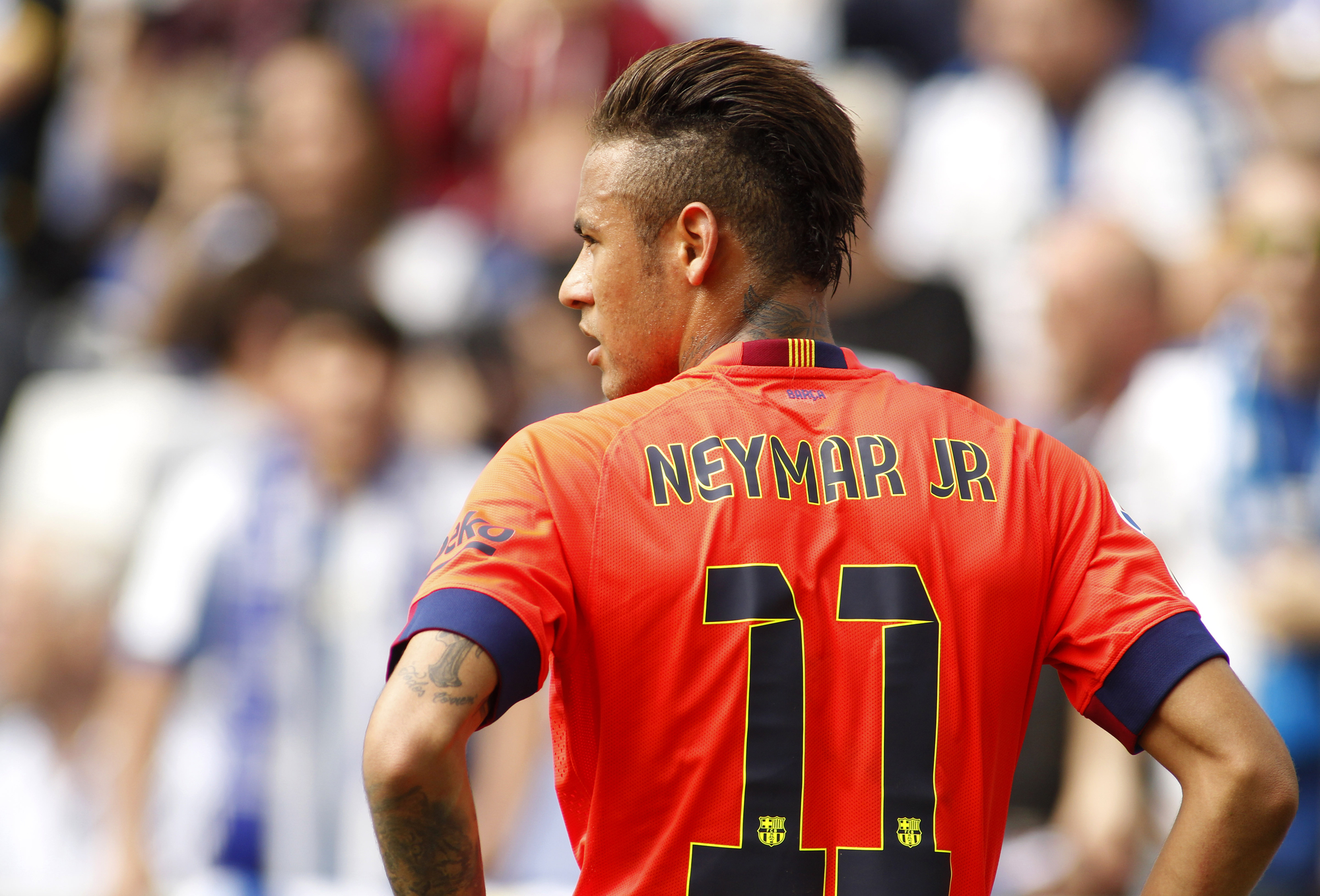 Neymar is 10/1 in the World Cup top scorer odds