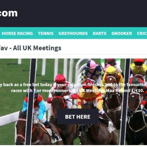 Money Back 2nd to Fav at Mintbet Bookmaker
