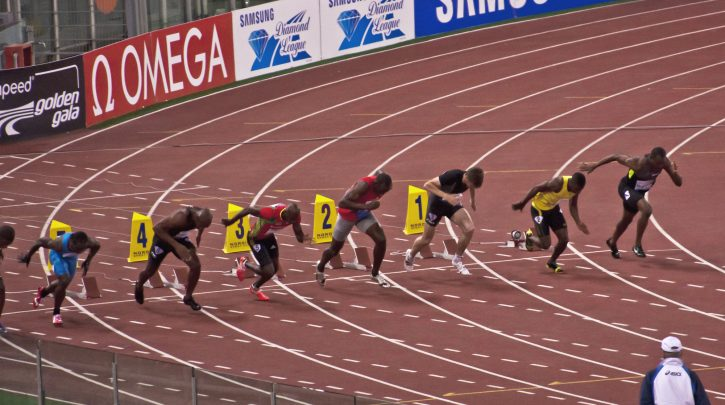 Olympics 100M Preview