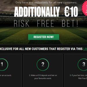 Risk Free Bet Offer at Kulbet