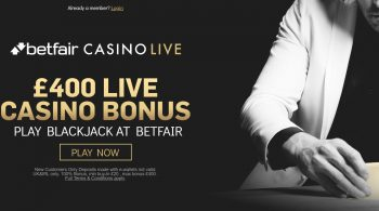 Betfair Live Casino Bonus
