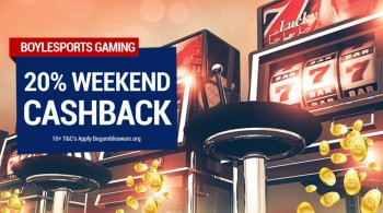 BoyleSports Games Weekend Cashback