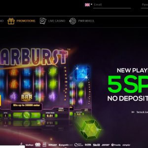 Pwr Bet Casino No Deposit Offer