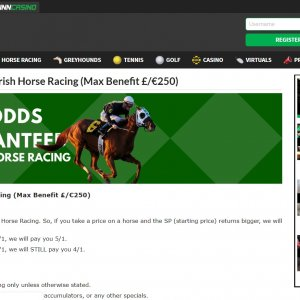 Quinn Bet Best Odds Guaranteed on Horse Racing bets