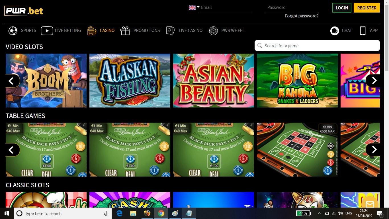 PWRbet Casino Bonus Review