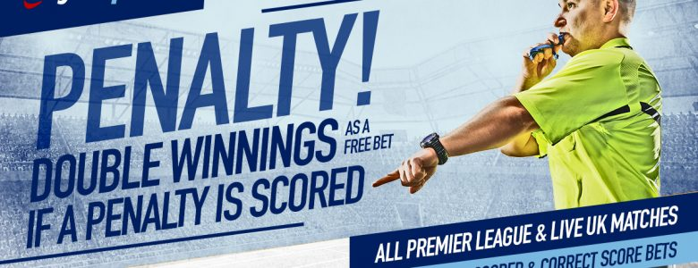 Boylesports Football Specials – DOUBLE Winnings If there's a Penalty Scored list of Matches 7th – 14th January 2019