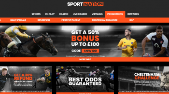 Sportnation Cheltenham Free Bets Offer for Existing customers