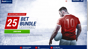 Six Nations Free Bet if your losing First Tryscorer