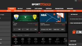 In Play Bet Offer at Sportnation