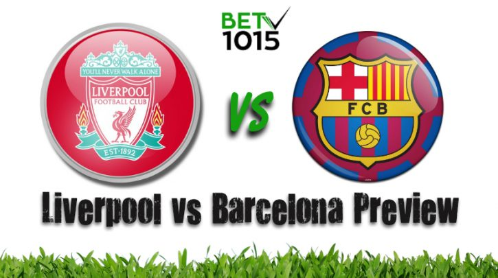 Liverpool vs Barcelona Champions League Preview and Prediction