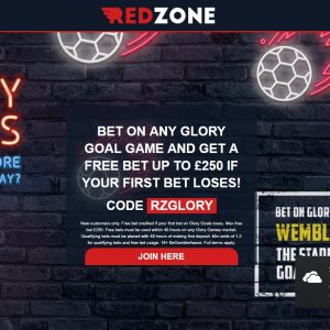 Redzone Sports Glory Goals Offer