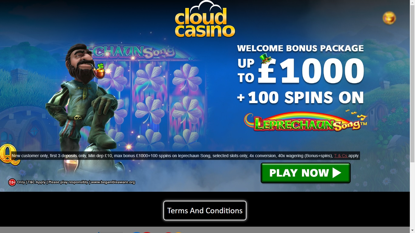 Cloud Casino Signup Bonus Offer