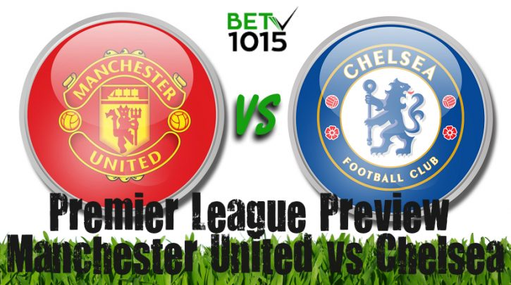 Manchester United vs Chelsea Prediction, betting Odds