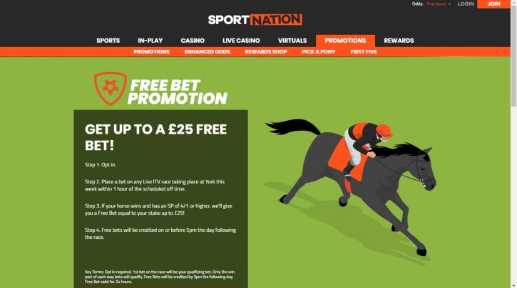 York Races Today - Grab a Free Bet up to £25