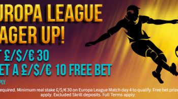 Free Europa League Bet Offer